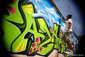 graffiti camping montpellier