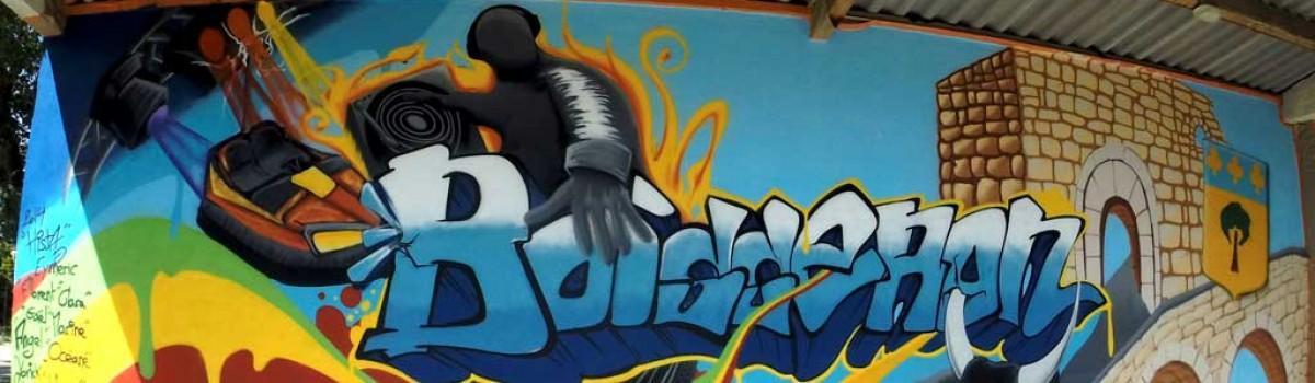 Stage d initiation au graffiti à Boisseron