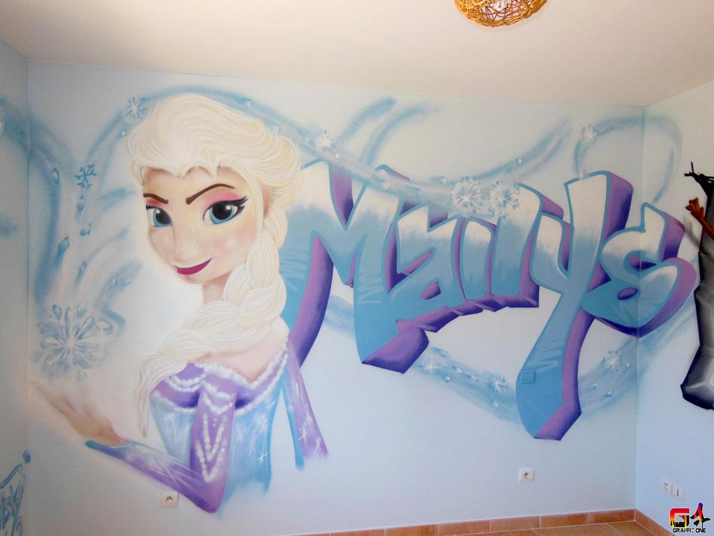 Chambre de fille reine des neiges 094826 la meilleure conception d 39 inspiration - Deco chambre reine des neiges ...