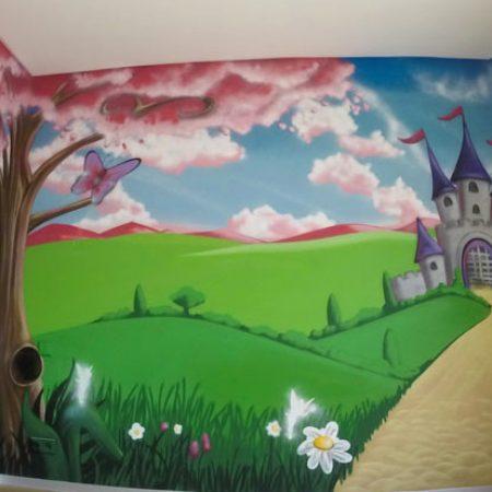 La chambre des fées princesses
