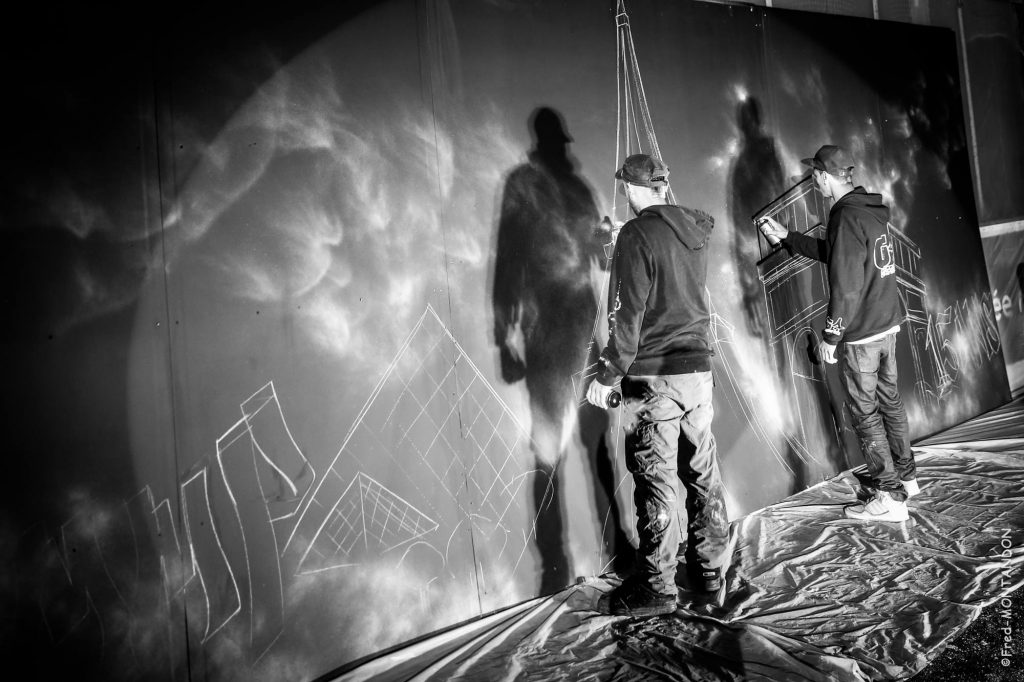 artiste graffeur live montpellier