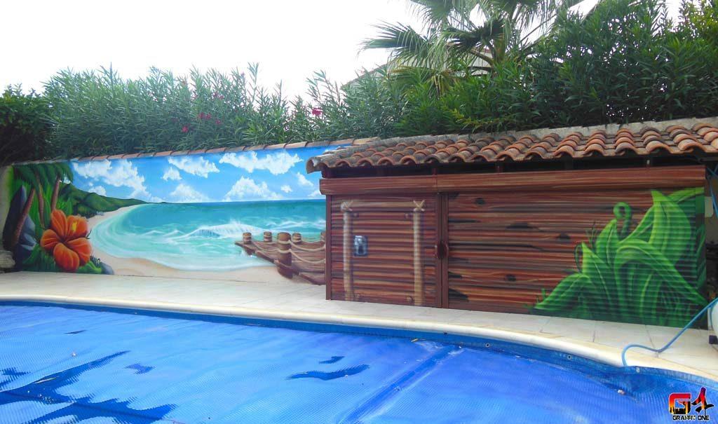 fresque murale montpellier