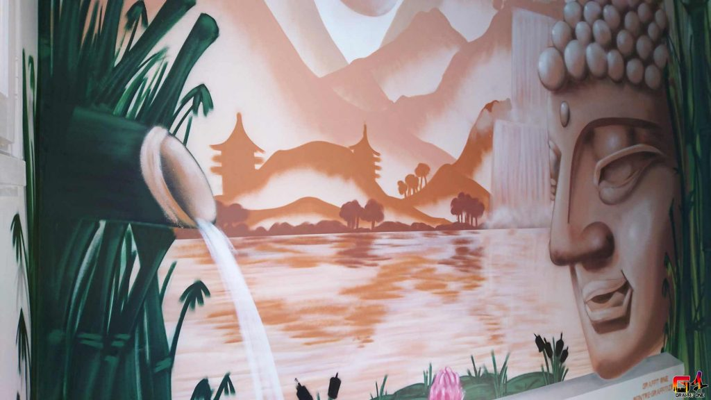 fresque graffiti montpellier