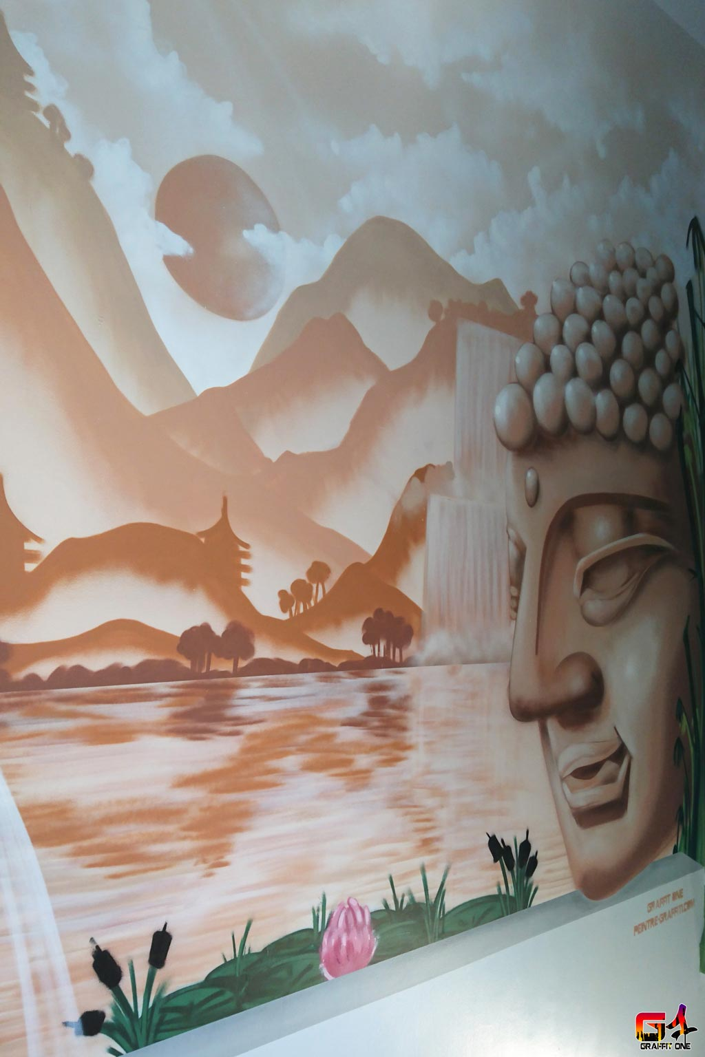 grafitti chambre enfant montpellier