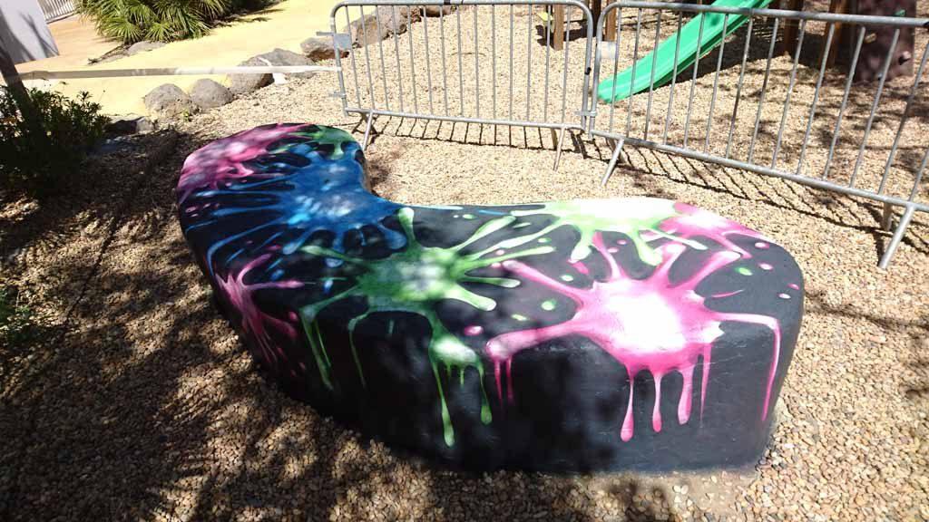 graffeur professionnel camping