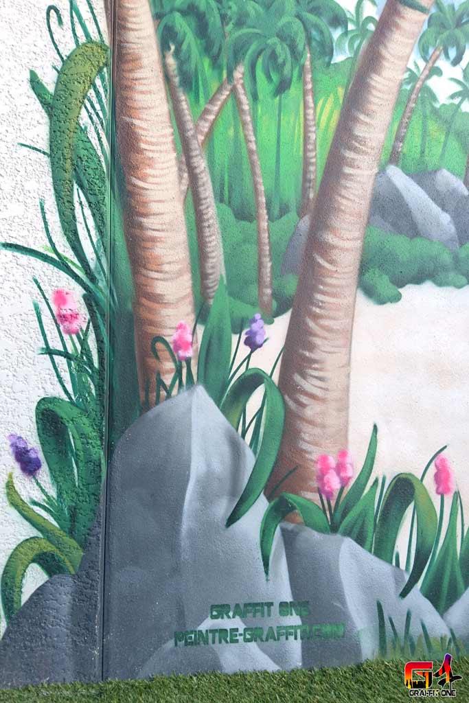 fresque murale frontignan