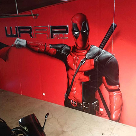Graffiti Marvel Deadpool pour Wrap All