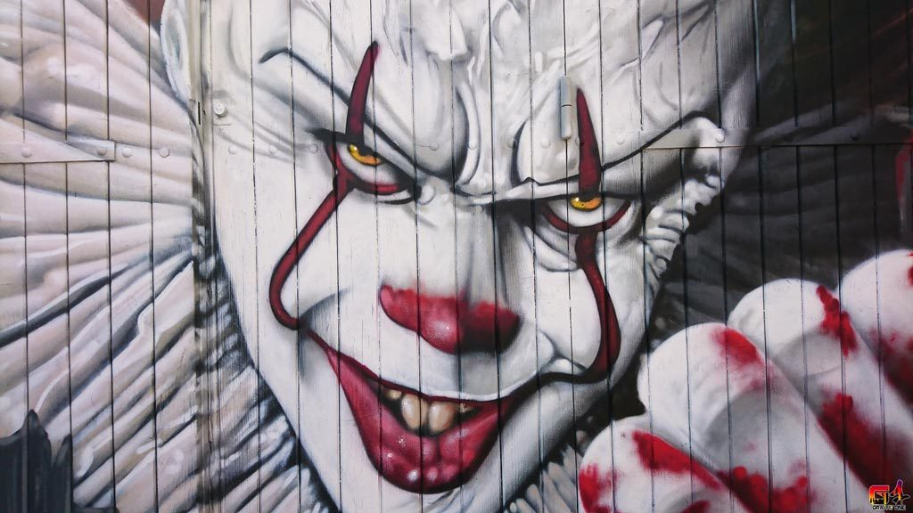 graffiti ça le clown