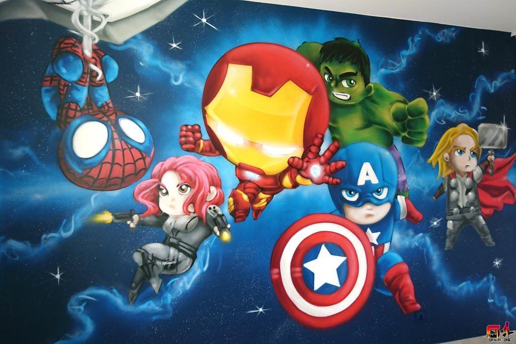 graffiti avengers