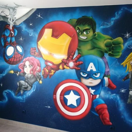 Chambre Baby Avengers