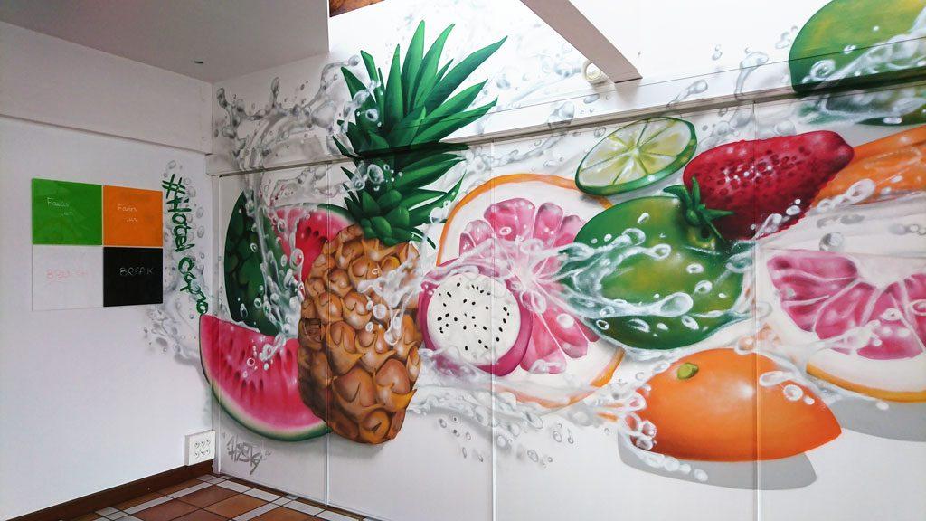 graffiti hotel capao