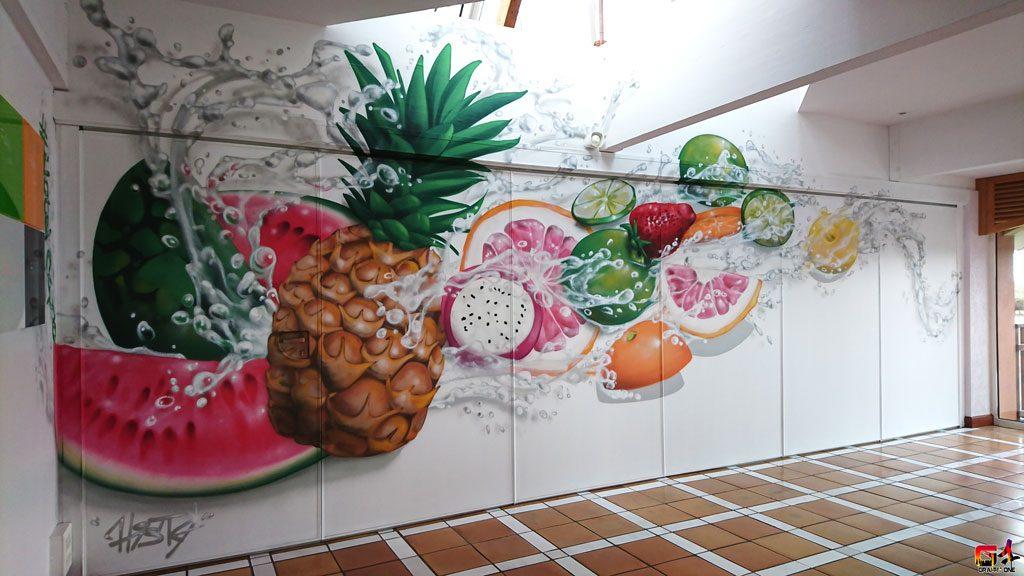 decoration intérieure aérosol