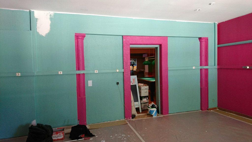 graffiti salle arcade