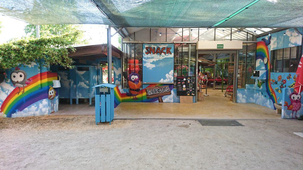 decoration murale parc animalier
