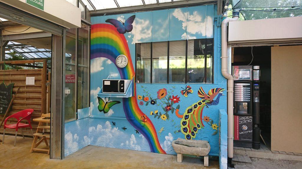 fresque murale vendargues