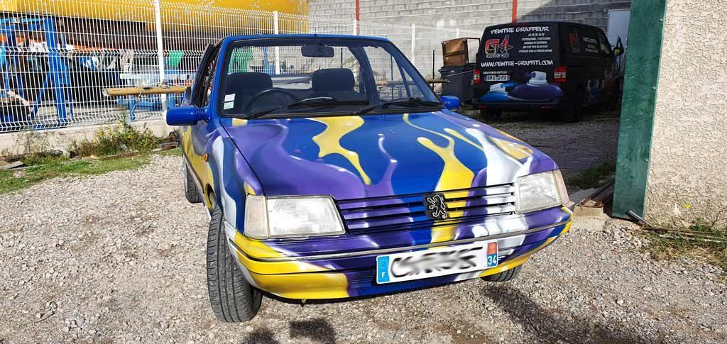 graffeur vehicule herault