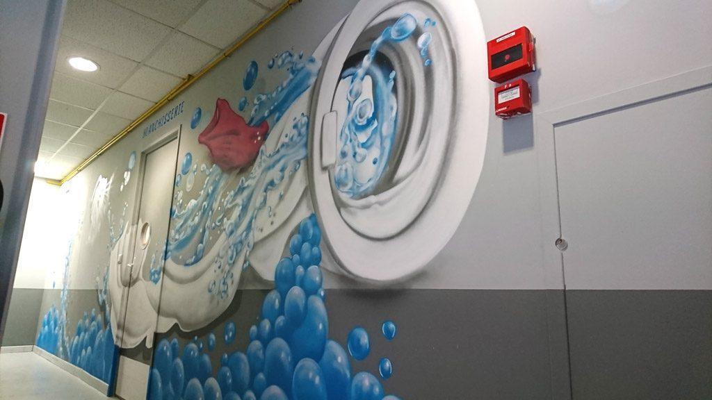graffiti mural entreprise herault